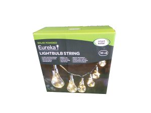 Smart Solar Omega Eureka! Colour Changing 10 LED Bulb String Light