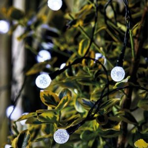 Smart Garden Solar 25 Super Bright Orbs String Lights