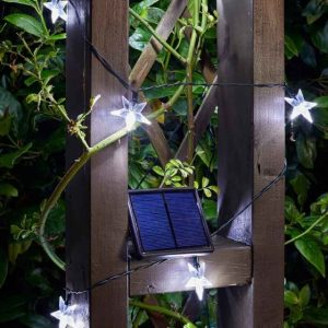Smart Garden Solar 25 Super Bright Stars String Lights