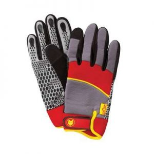 WOLF-Garten Washable Power Tool Gloves Med/Lrg (Gh-M10) (GHM10)