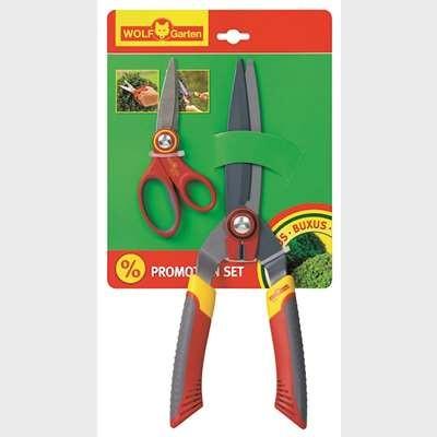 WOLF-Garten Box Tree Shears & Multi Purpose Scissors (HSBRAX)