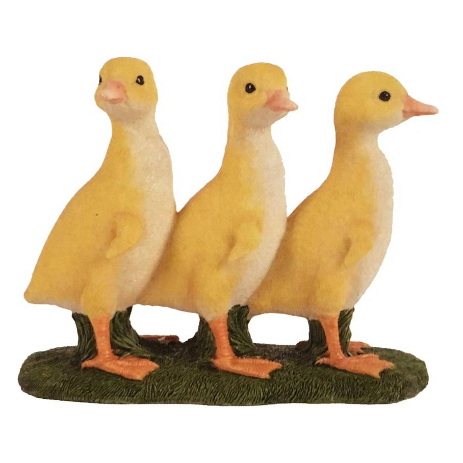 Hamac Three Standing Ducklings Ornament
