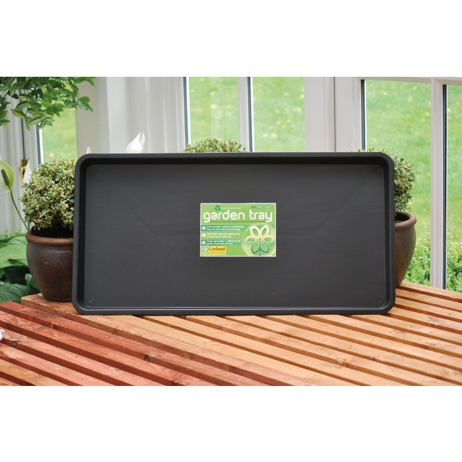 Garland Maxi Garden Tray - Black (79x40x5cm)