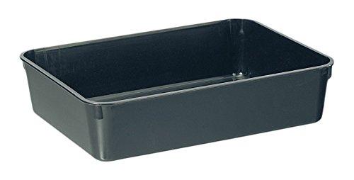 Stewart 22cm Premium Gravel Tray (without holes) Black