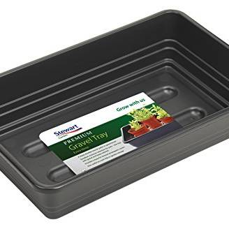 Stewart 38cm Premium Extra Deep Gravel Tray (without holes) Black