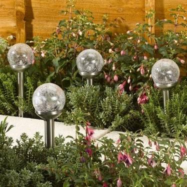 Smart Garden Solar Rainbow Light - Stainless Steel