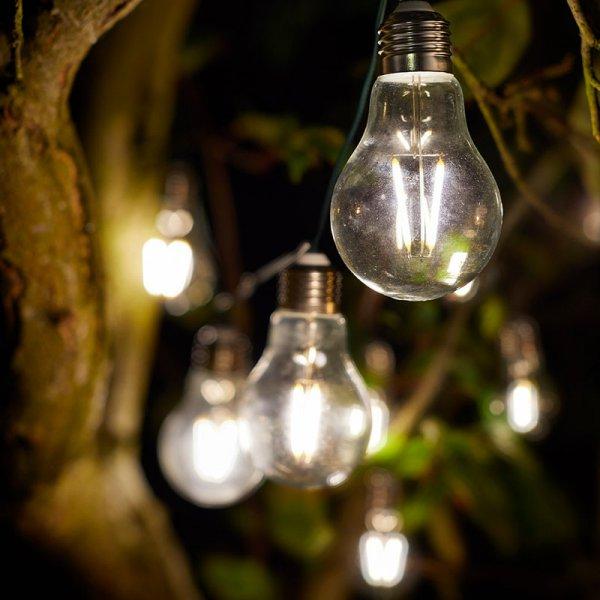 Smart Garden Solar 10 Eureka Retro String Lights