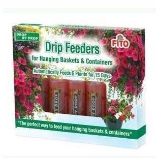 Spotless Punch Fito - Drip Feeders for Hanging Baskets & Containers 6x32ml