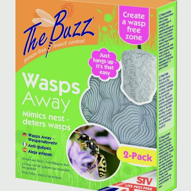 Buzz Off Wasps Away - 2 pack