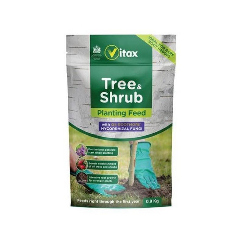Vitax Tree And Shrub Planting Feed (pouch) - 0.9kg