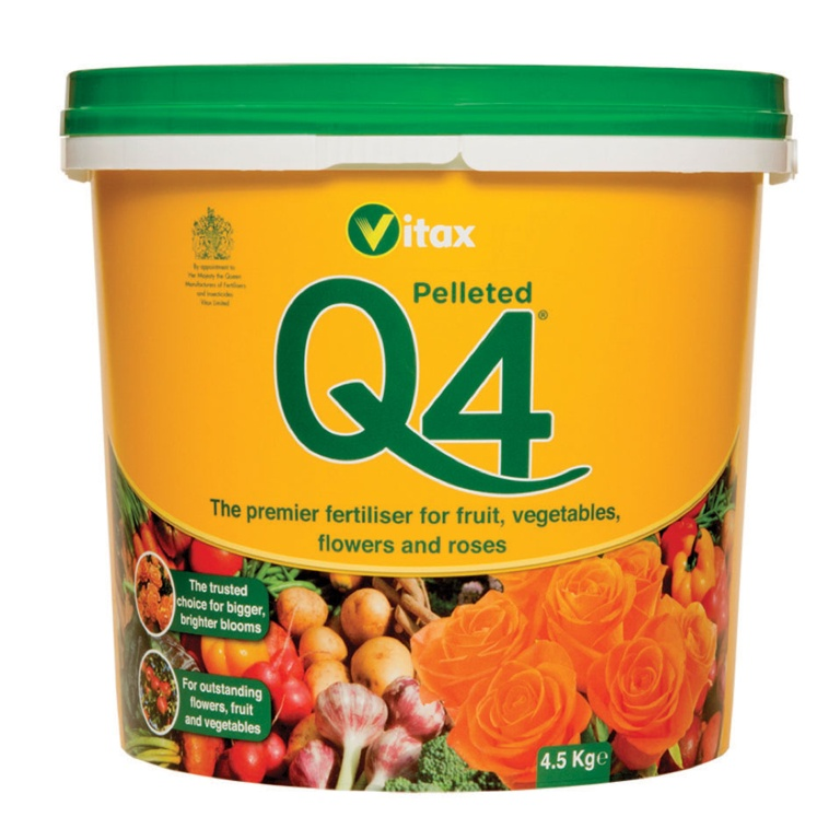 Vitax Q4 - 4.5kg Tub