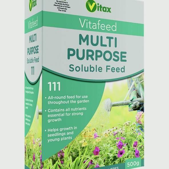 Vitax Multi Purpose Soluble Feed - 500g