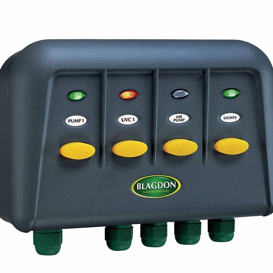 Blagdon PowerSafe 4 Way Switch Box