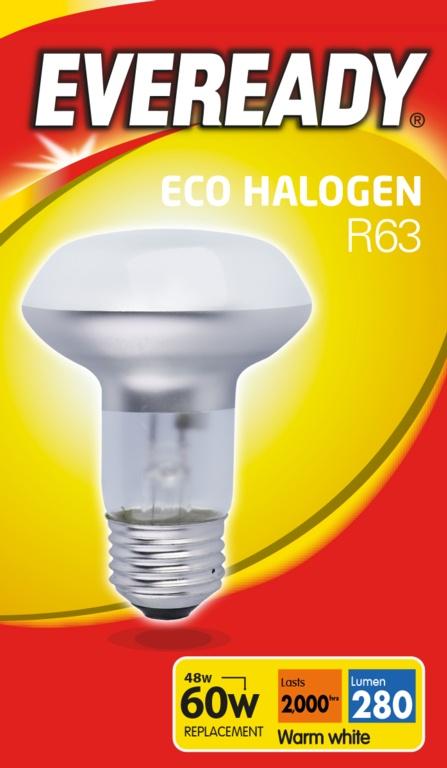 Eveready Eco R63 Clear E14 Bulb 48w