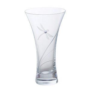 Dartington Crystal Glitz Dragonfly Small Vase