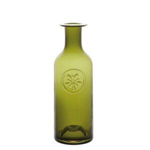 Dartington Crystal Aquilegia 21cm Bottle - Green
