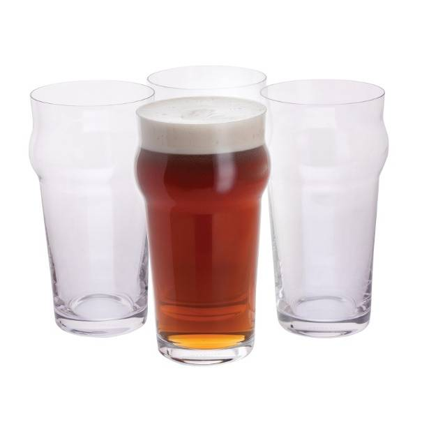 Dartington Crystal Boys' Night In Pint Glass - 4pk