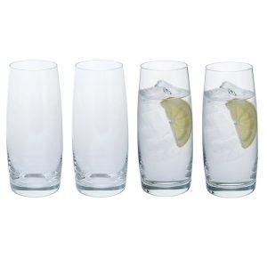 Dartington Crystal Cheers! Tumbler Glasses - 4pk
