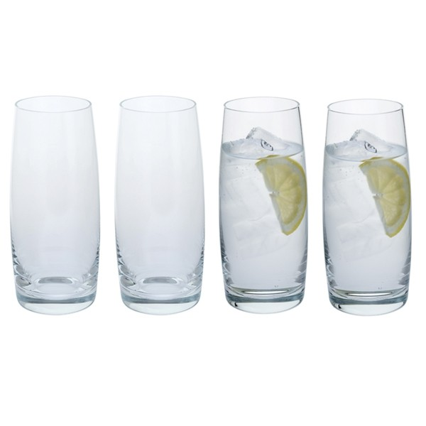 Dartington Crystal Cheers! Tumbler Glasses - 4pk