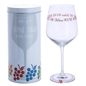 Dartington Crystal Glass Wine Time 'Love The Wine You're With'