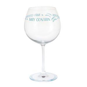 Dartington Crystal Glass 'Gin Time 'May Contain Gin'