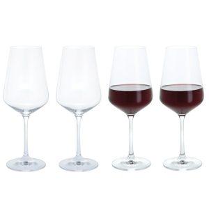 Dartington Crystal Cheers! Red Wine Glasses - 4pk