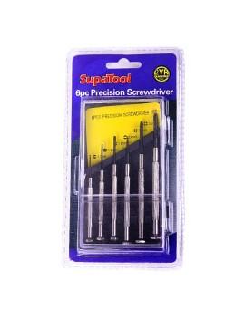 SupaTool Precision Screwdriver Set 6 Piece