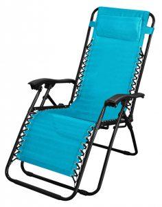 SupaGarden Zero Gravity Chair - Turquoise