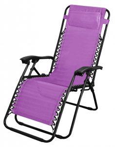 SupaGarden Zero Gravity Chair - Purple