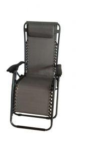 Supagarden Zero Gravity Chair - Grey / Black