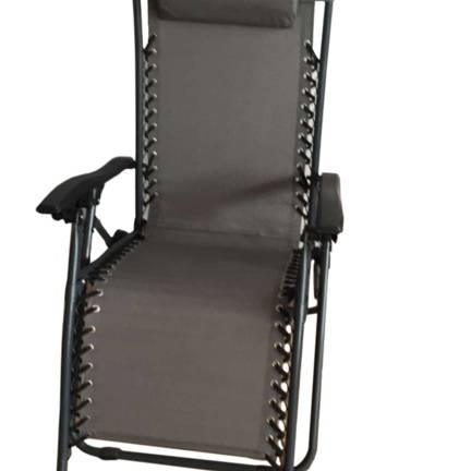 Supagarden Zero Gravity Chair - Grey / Black