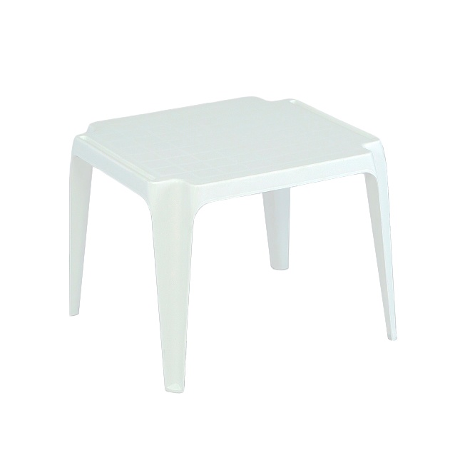 Supa White Plastic Childs Table