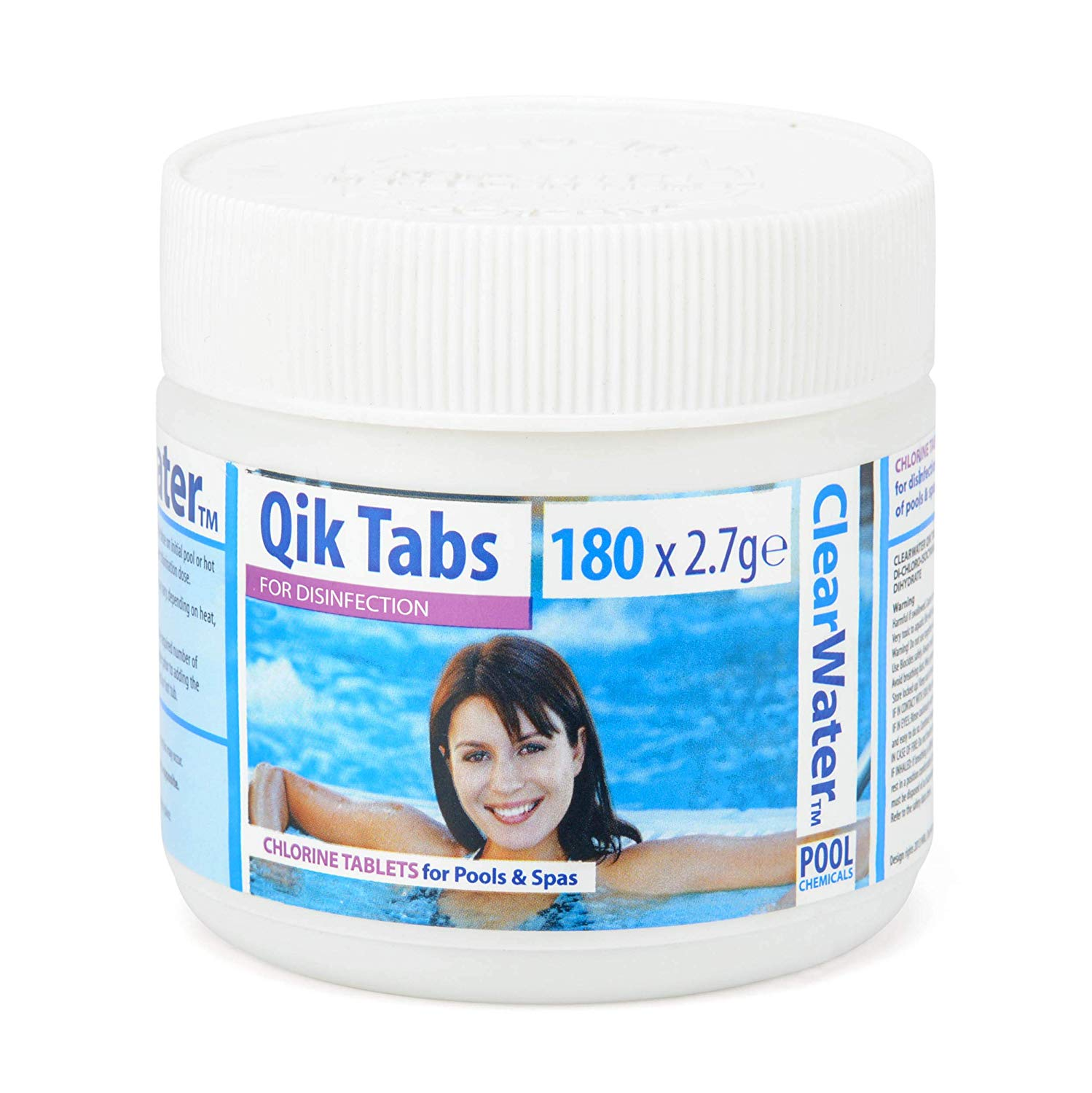 Clearwater Qik Tabs 180x2.7g