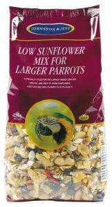 Johnston & Jeff Low Sunflower for Large Parrots 2kg