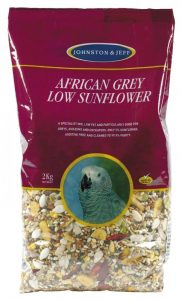 Johnston & Jeff Low Sunflower for African Greys 2kg