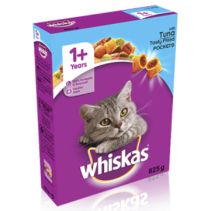 Whiskas Complete Dry Cat Food Tuna 825g