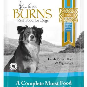 Burns Penlan Farm Pouch Complete Lamb Rice & Veg Dog Food - 6 x 400g