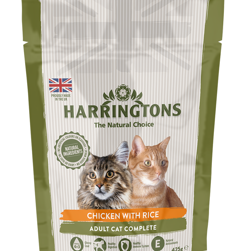 Harringtons Complete Cat Food - Chicken & Rice 425g