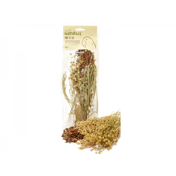 Rosewood Birds Pick 'n' Fly Grasses 130g
