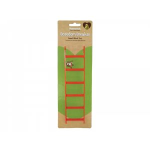 "Rosewood Budgie & Canary Toys 9"" Bird Ladder With Bell"