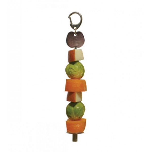Rosewood Options Bird Products Fruit & Veg Skewer
