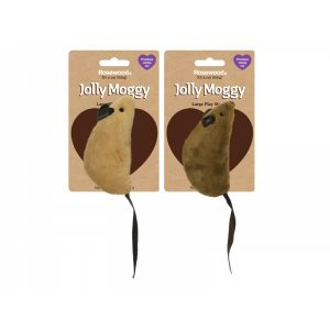 Rosewood Natural Wild Catnip Toys Large Play Mouse