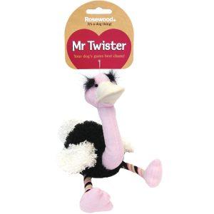 Mister Twister Olga Ostrich Dog Toy