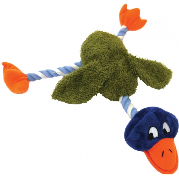 Mister Twister Delia Duck Dog Toy