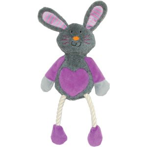Mister Twister Ruby Rabbit Dog Toy
