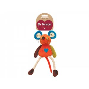 Mister Twister Millie Mouse Dog Toy