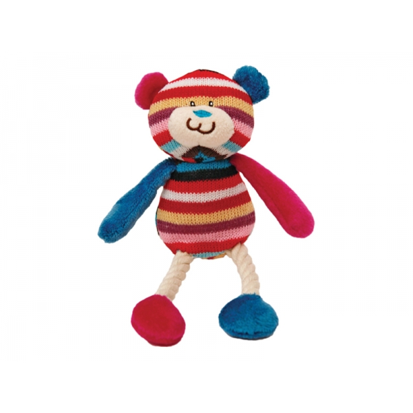 Mister Twister Tilly Teddy Dog Toy