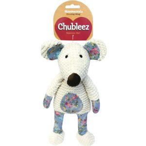 Chubleez Maisie Mouse Dog Toy