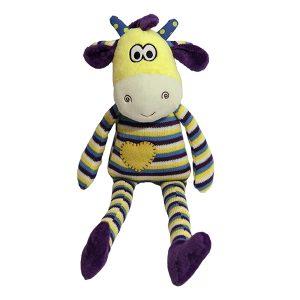 Chubleez Georgie Giraffe Dog Toy