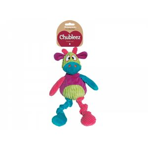 Chubleez Chloe Cow Dog Toy